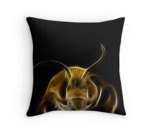 bee light Throw Pillow