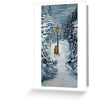 The Lamppost Greeting Card
