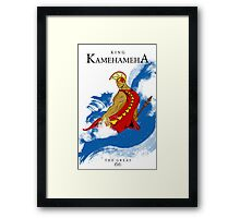 "King Kamehameha ""The Great"" Framed Print"