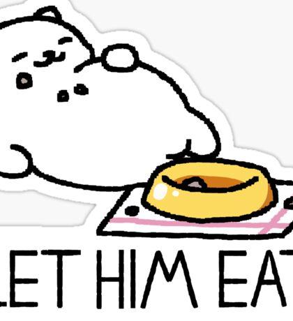 Neko Atsume - Let Him Eat Sticker