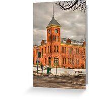 Coconino County Courthouse Flagstaff, AZ Greeting Card