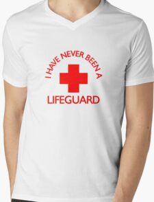 I have never been a LIFEGUARD Mens V-Neck T-Shirt