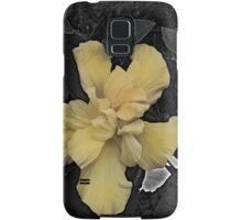 Yellow flower phone case Samsung Galaxy Case/Skin