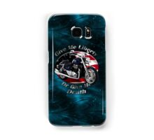 Triumph Thunderbird Give Me Liberty Samsung Galaxy Case/Skin