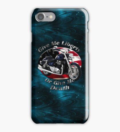 Triumph Thunderbird Give Me Liberty iPhone Case/Skin