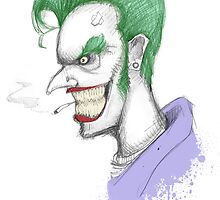 Rockabilly Joker by justin13art