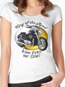Triumph Thunderbird King Of The Road Women's Fitted Scoop T-Shirt