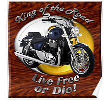 Triumph Thunderbird King Of The Road Poster