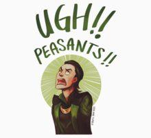 Ugh Peasants!! by derlaine