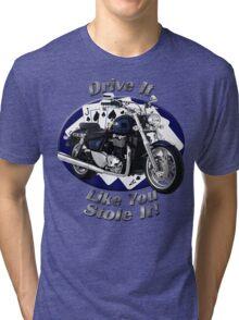 Triumph Thunderbird Drive It Like You Stole It Tri-blend T-Shirt