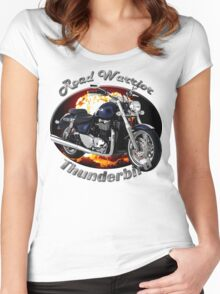 Triumph Thunderbird Road Warrior Women's Fitted Scoop T-Shirt