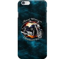 Triumph Thunderbird Road Warrior iPhone Case/Skin