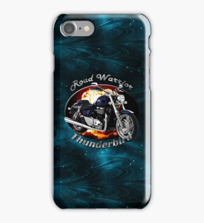 Triumph Thunderbird Road Warrior iPhone Case/Skin
