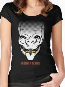 The silence of the Silence Women's Fitted Scoop T-Shirt