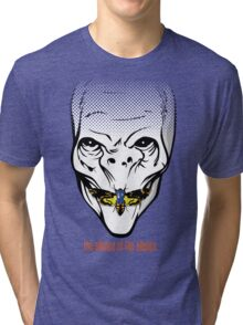 The silence of the Silence Tri-blend T-Shirt