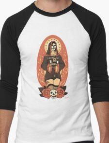 Santa Muerte Men's Baseball ¾ T-Shirt