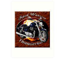 Triumph Thunderbird Road Warrior Art Print