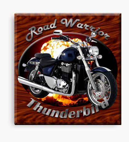 Triumph Thunderbird Road Warrior Canvas Print