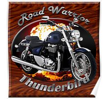 Triumph Thunderbird Road Warrior Poster