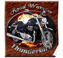 Triumph Thunderbird Road Warrior Poster