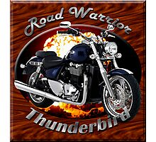 Triumph Thunderbird Road Warrior Photographic Print