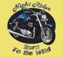 Triumph Thunderbird Night Rider Baby Tee