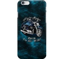 Triumph Thunderbird Night Rider iPhone Case/Skin