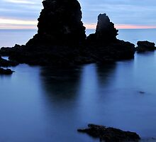 Waihi Beach in the Morning Light by Lewis Gardner Photography