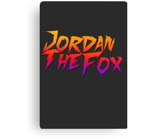 JordanTheFox Canvas Print