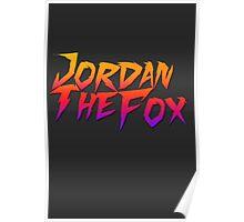 JordanTheFox Poster