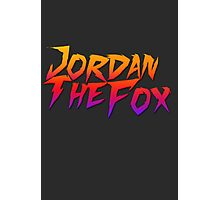 JordanTheFox Photographic Print