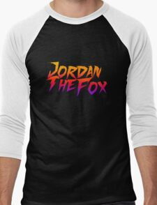 JordanTheFox Men's Baseball ¾ T-Shirt