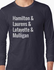 Hamilton Squad Long Sleeve T-Shirt