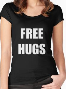 Free Hugs 2 Women's Fitted Scoop T-Shirt