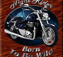 Triumph Thunderbird Night Rider by hotcarshirts