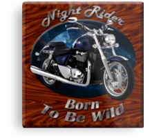Triumph Thunderbird Night Rider Metal Print