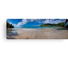 Cain Garden Beach Panorama Canvas Print
