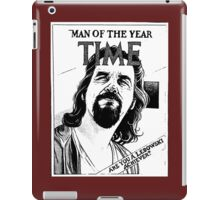 Big Lebowski man of the year iPad Case/Skin