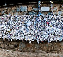 The Wishing Wall Panorama by Lewis Gardner Photography