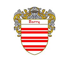 Barry Coat of Arms/Family Crest Photographic Print