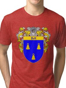 Bell Coat of Arms/Family Crest Tri-blend T-Shirt