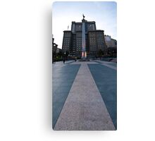 Union Square Vertical Panorama Canvas Print