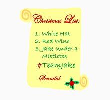 Scandal Team Jake Christmas List Unisex T-Shirt