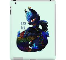 Black Opal Dragon iPad Case/Skin