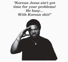 Ice Cube Korean Jesus by plantmasta89
