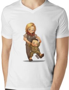 Learn to Walk Mens V-Neck T-Shirt