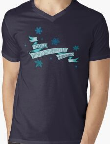 Cold Never Bothered Me Anyway Mens V-Neck T-Shirt