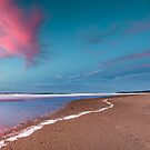 East Beach at Sunset by fotosic