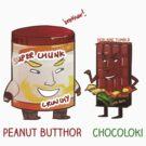 Peanut Butthor & Chocoloki by derlaine