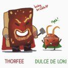 Thorfee & Dulce de Loki by derlaine